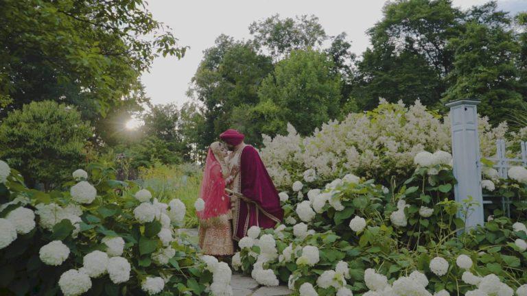 Gurudwara Singh Sabha Port Reading NJ Sikh Wedding | Navjot & David | Next Day Edit Film