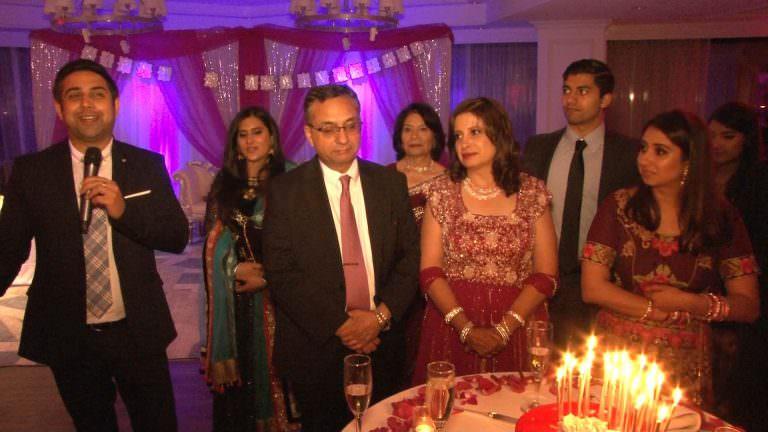 Sheraton Mahwah NJ Anniversary | Anu & Arun | Amit Speech