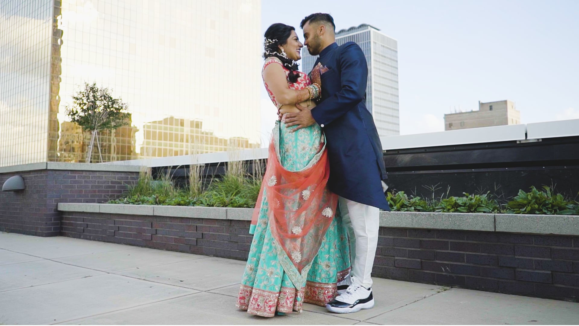 Sheraton Indianapolis City Centre Hotel IN Hindu Wedding | Raina & Pawan | Feature Film