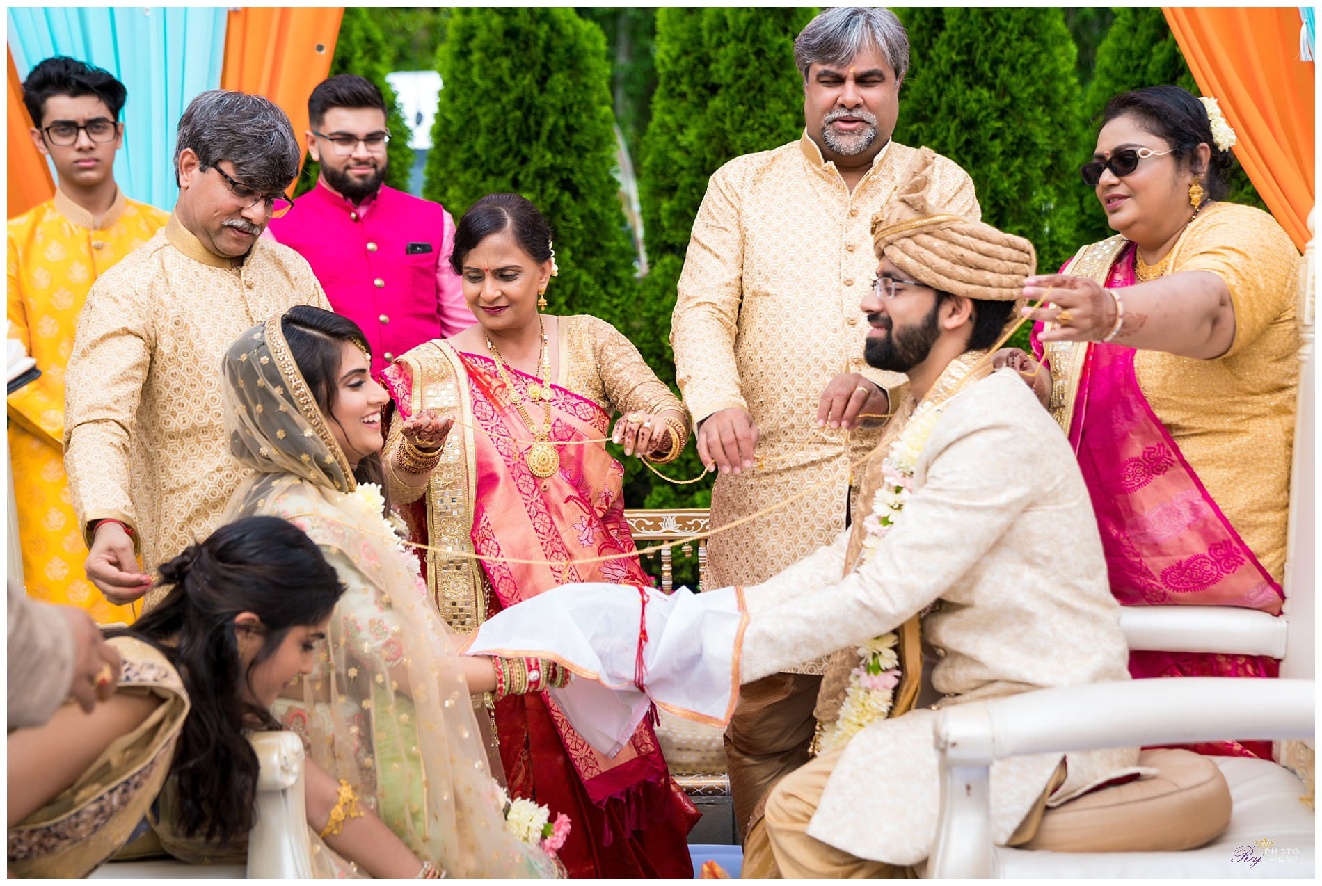 Marigold Somerset New Jersey Hindu Wedding Ceremony Shaili Rahul