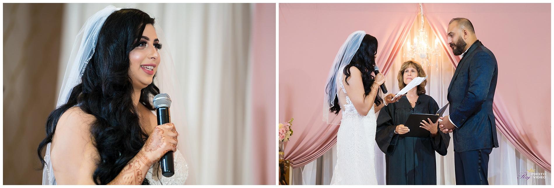 Marigold Somerset Nj Fusion Wedding Estenia Pritpal