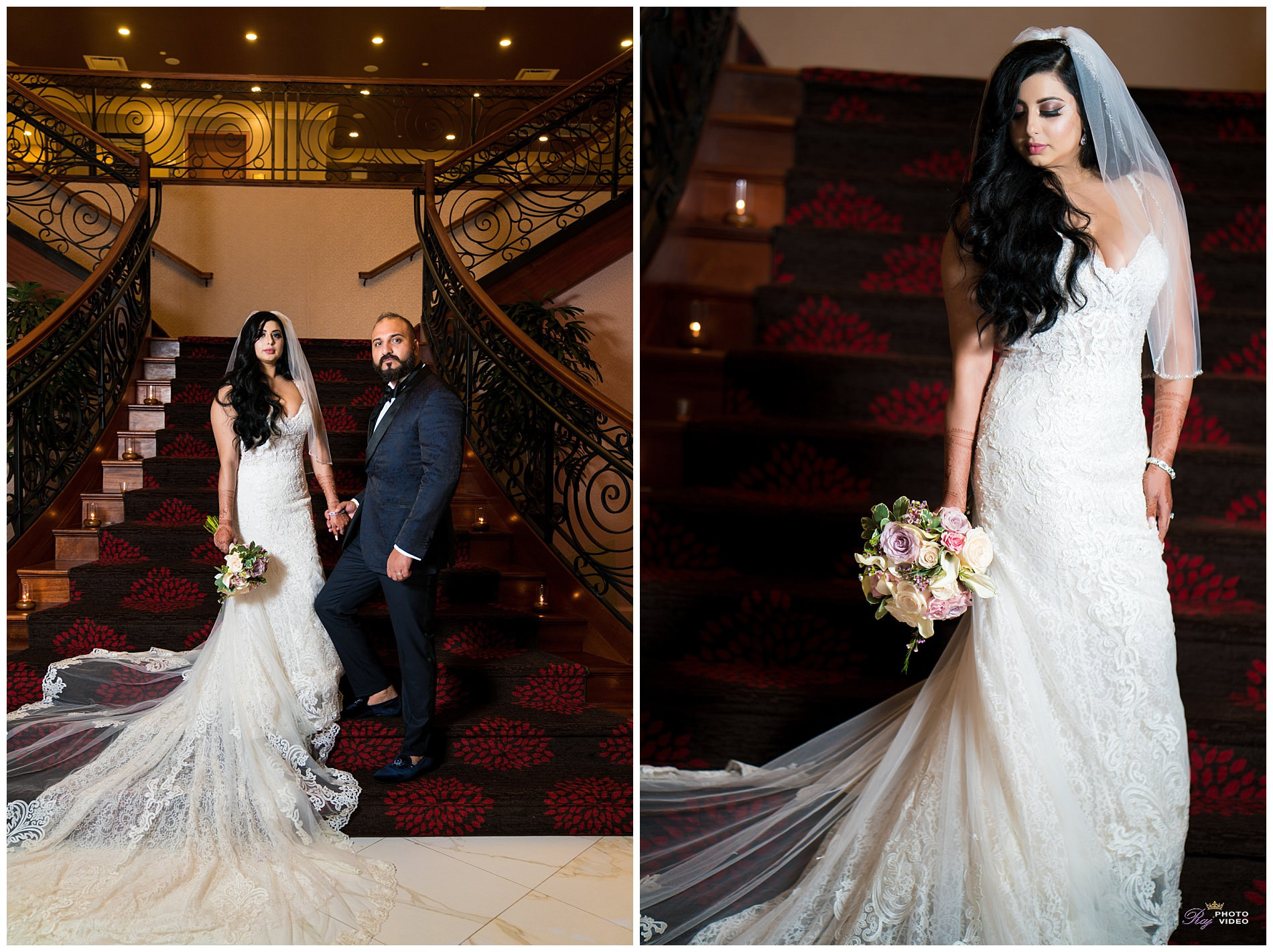 Marigold Somerset Nj Fusion Wedding Estenia Pritpal