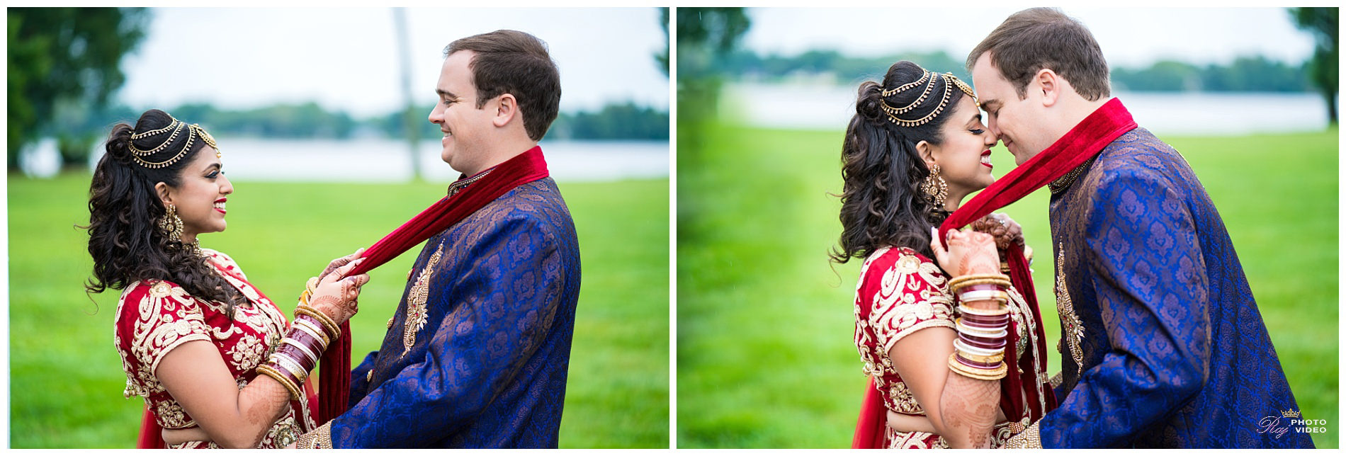 Pen Ryn Estate Bensalem Pa Fusion Wedding Aditi Peter
